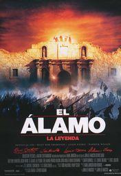 Cartel oficial en español de: El Alamo: la leyenda