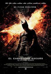 Cartel oficial en español de: El caballero oscuro: La leyenda renace