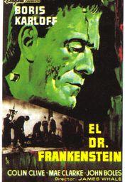 Cartel oficial en español de: El Doctor Frankenstein