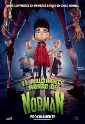 Cartel oficial en español de: El alucinante mundo de Norman