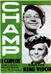 Cartel oficial en español de: El campeón