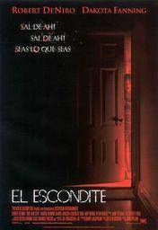 Cartel oficial en español de: El escondite