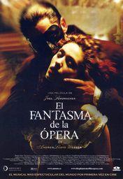 Cartel oficial en español de: El fantasma de la ópera (2004)