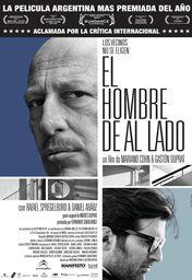 Cartel oficial en español de: El hombre de al lado