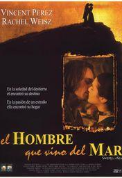 Cartel oficial en español de: El hombre que vino del mar