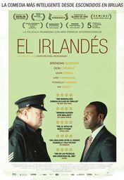 Cartel oficial en español de: El irlandés (The Guard)