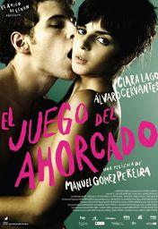 Cartel oficial en español de: El juego del ahorcado
