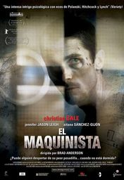 Cartel oficial en español de: El maquinista (The Machinist)