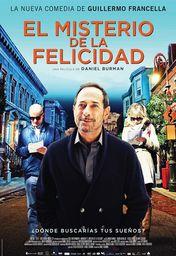 Cartel oficial en español de: El misterio de la felicidad