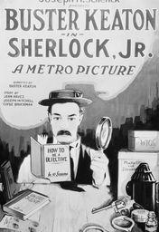 Cartel oficial en español de: El moderno Sherlock Holmes