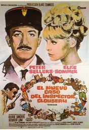 Cartel oficial en español de: El nuevo caso del inspector Clouseau