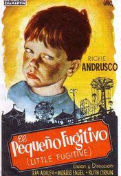 Cartel oficial en español de: El pequeño fugitivo