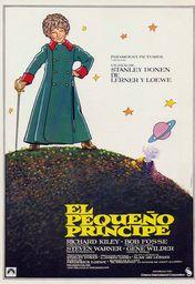 Cartel oficial en español de: El pequeño príncipe (El principito)