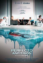 Cartel oficial en español de: El perfecto anfitrión