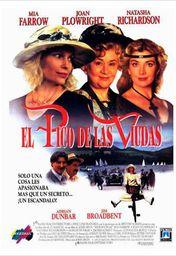 Cartel oficial en español de: El pico de las viudas