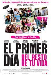Cartel oficial en español de: El primer día del resto de tu vida