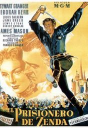 Cartel oficial en español de: El prisionero de Zenda (1952)