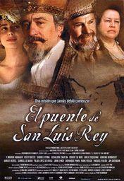Cartel oficial en español de: El puente de San Luis Rey
