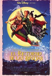 Cartel oficial en español de: El retorno de las brujas