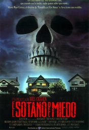 Cartel oficial en español de: El sótano del miedo