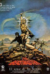 Cartel oficial en español de: El señor de las bestias
