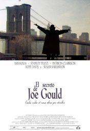 Cartel oficial en español de: El secreto de Joe Gould