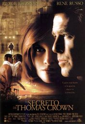 Cartel oficial en español de: El secreto de Thomas Crown