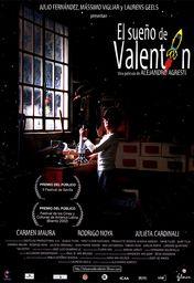 Cartel oficial en español de: El sueño de Valentín