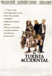 Cartel oficial en español de: El turista accidental