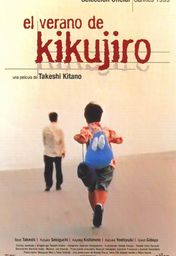 Cartel oficial en español de: El verano de Kikujiro