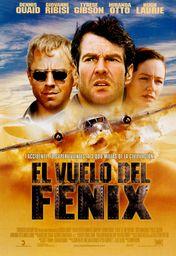 Cartel oficial en español de: El vuelo del Fénix (2004)