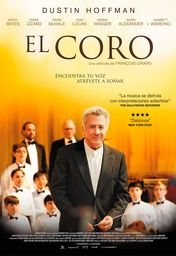Cartel oficial en español de: El coro