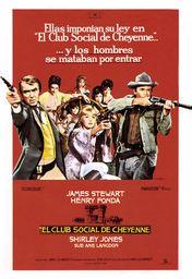 Cartel oficial en español de: El club social de Cheyenne