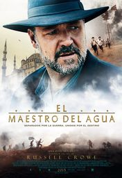 Cartel oficial en español de: El maestro del agua