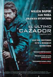 Cartel oficial en español de: El último cazador (The Hunter)