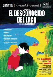 Cartel oficial en español de: El desconocido del lago