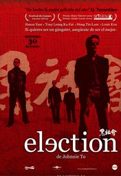 Cartel oficial en español de: Election (2005)