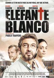 Cartel oficial en español de: Elefante blanco