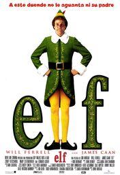 Cartel oficial en español de: Elf