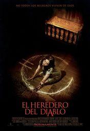 Cartel oficial en español de: El heredero del diablo