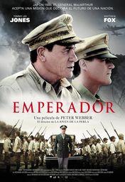 Cartel oficial en español de: Emperador