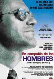 Cartel oficial en español de: En compañía de hombres
