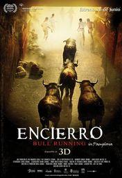 Cartel oficial en español de: Encierro