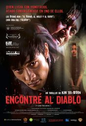 Cartel oficial en español de: Encontré al diablo (I Saw The Devil)