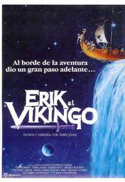 Cartel oficial en español de: Erik el vikingo