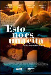 Cartel oficial en español de: Esto no es una cita