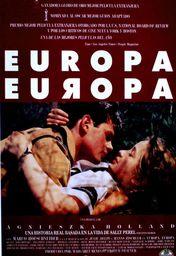 Cartel oficial en español de: Europa, Europa