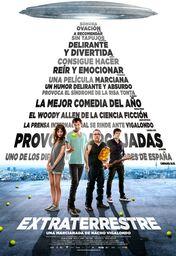 Cartel oficial en español de: Extraterrestre
