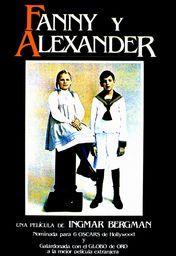 Cartel oficial en español de: Fanny y Alexander