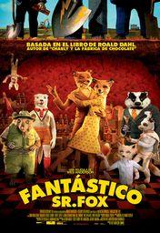 Cartel oficial en español de: Fantástico Sr. Fox